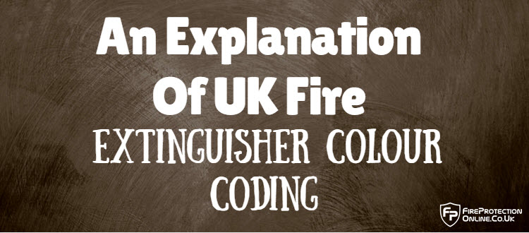 UK Fire Extinguisher Colour Coding