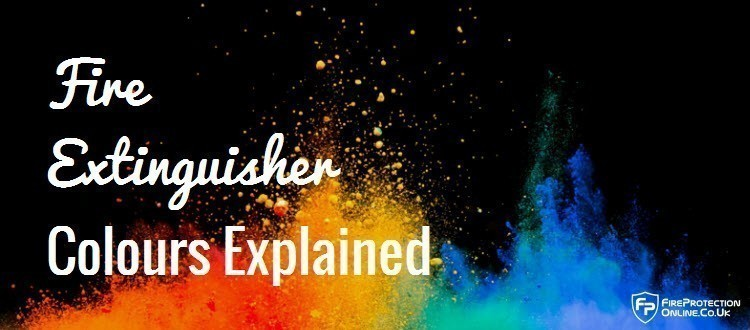 fire extinguisher colours