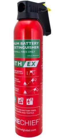 iphone fire extinguisher