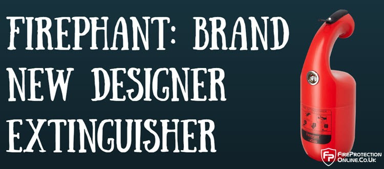 Firephant: Brand New Designer Extinguisher