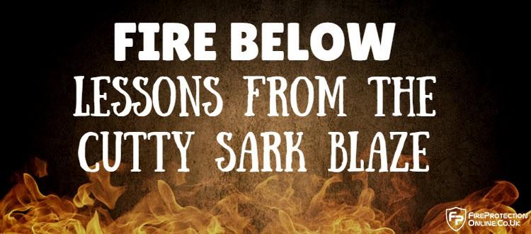 cutty sark fire