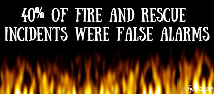 40% Of Fire And Rescue Incidents Were False Alarms