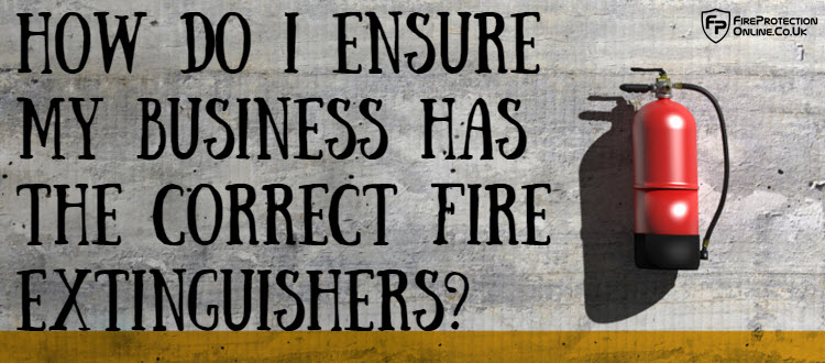 business fire extinguisher