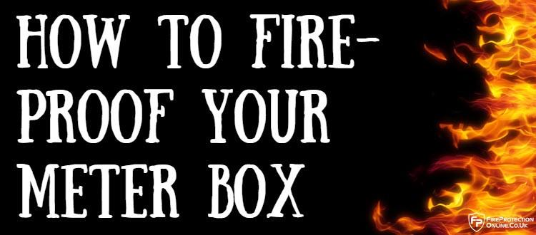 fire-proof meter box