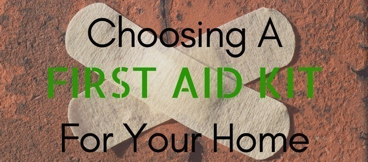 first aid kit for home
