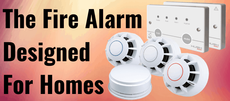 The Fire Alarm Designed For Homes