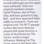 Mojo - Black Record - album review
