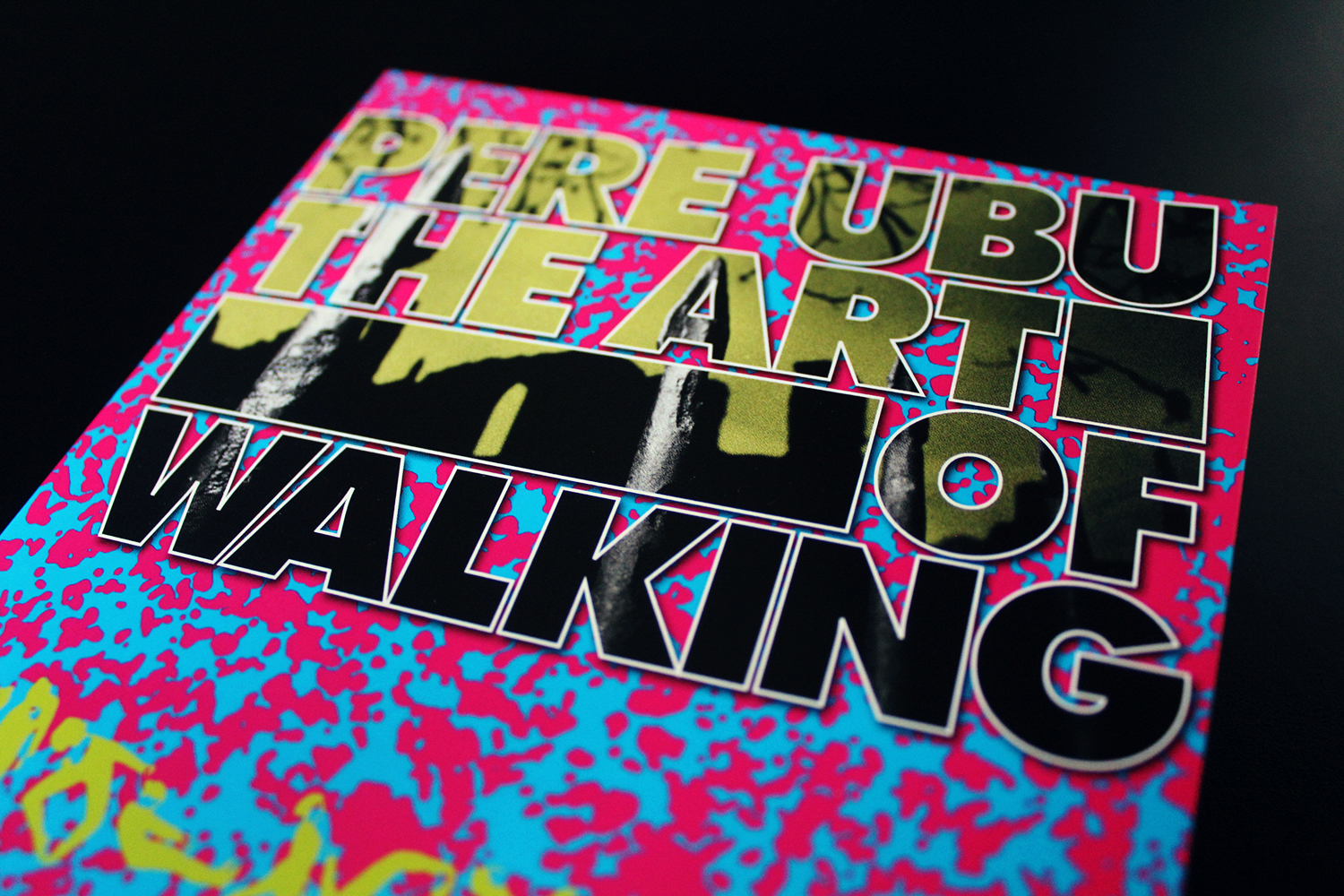 Pere Ubu The Art Of Walking Cd Fire Records