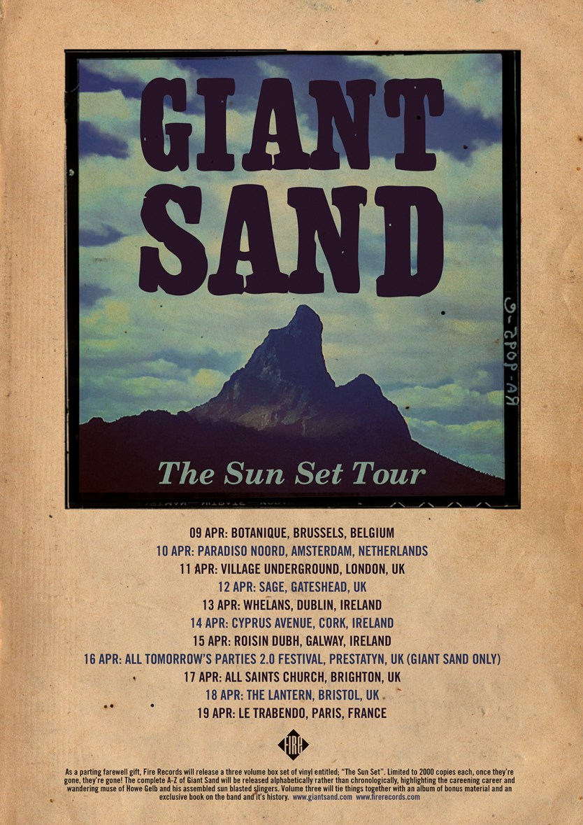 Giant Sand Reveal The Sun Set Volume 1 2 Amp 3 Box