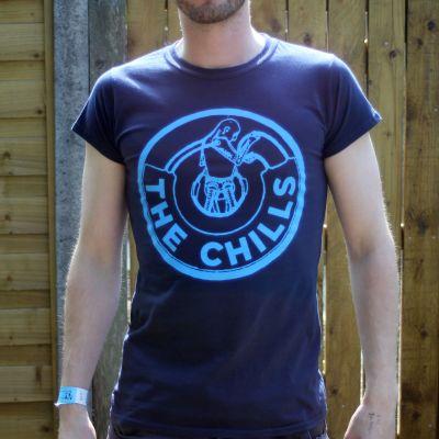 Chills Men T-Shirt Blue