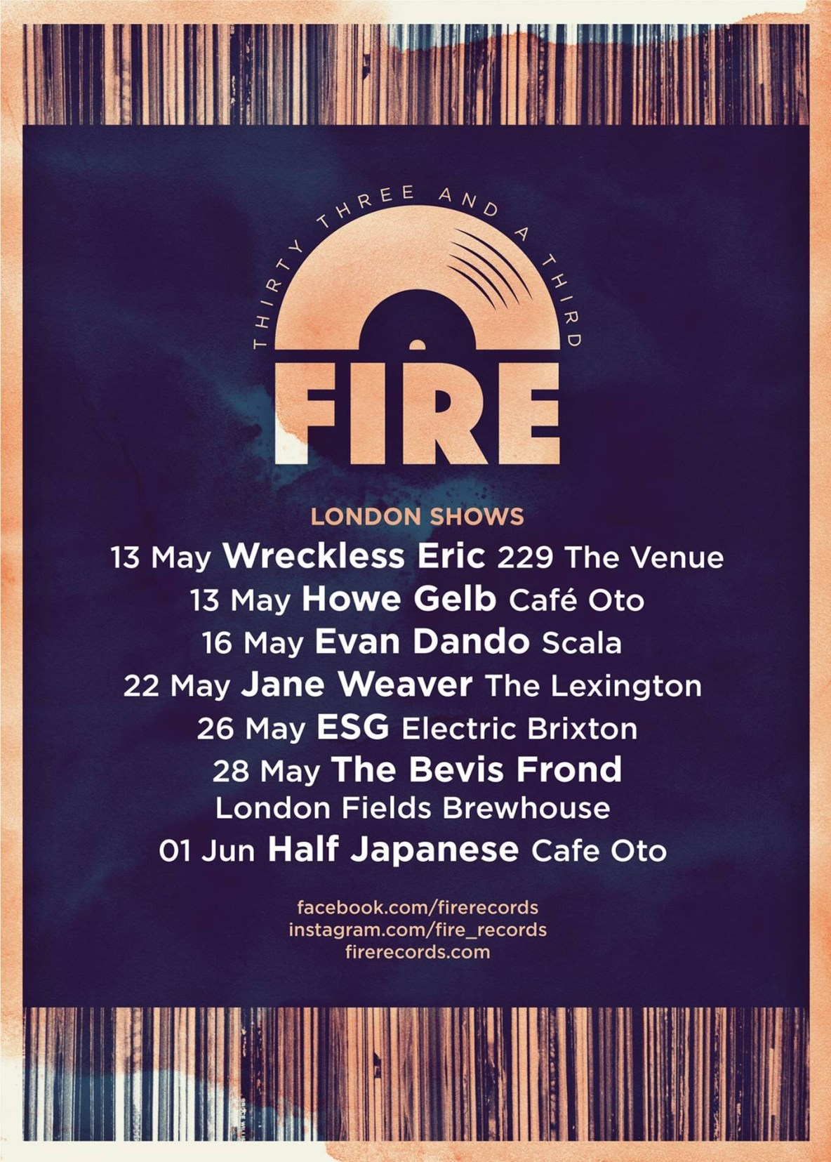 Events – FIRE RECORDS