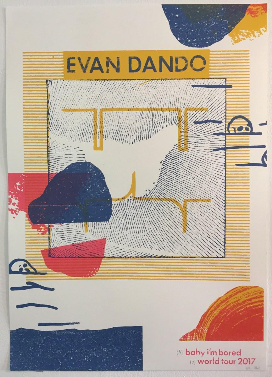evan dando poster
