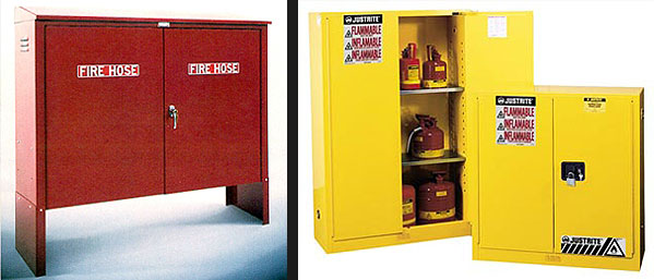 Fire Safety Cabinets, Access Panels, Extinguisher & SCBA
