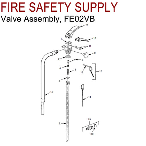 Ansul 429090 CLEANGUARD Valve Assembly (FE02VB)