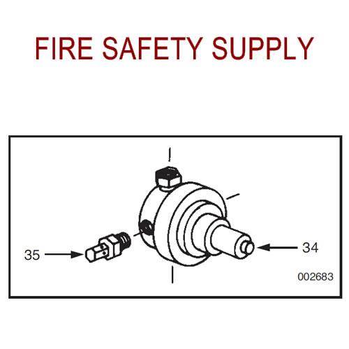 Ansul 78704 Pressure Relief Adaptor