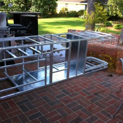 Outdoor Kitchen Frames Hape Cabinets 101 Fireside Kitchens Custom Frame Defines All The Measurements For Construction