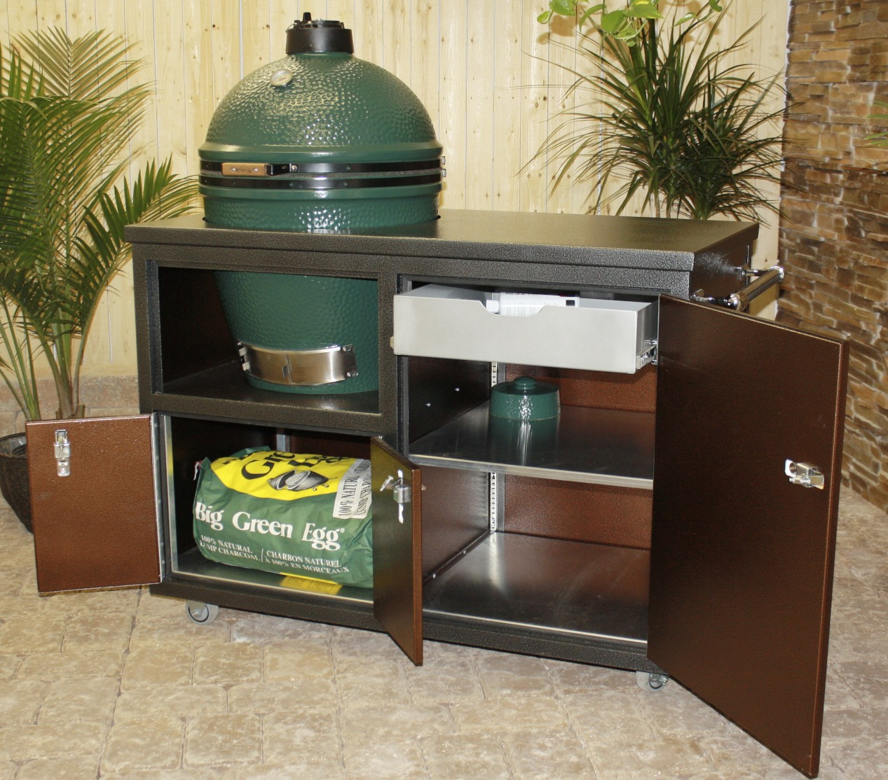 Challenger Outdoor Grill Carts  Large Cart  Fireside