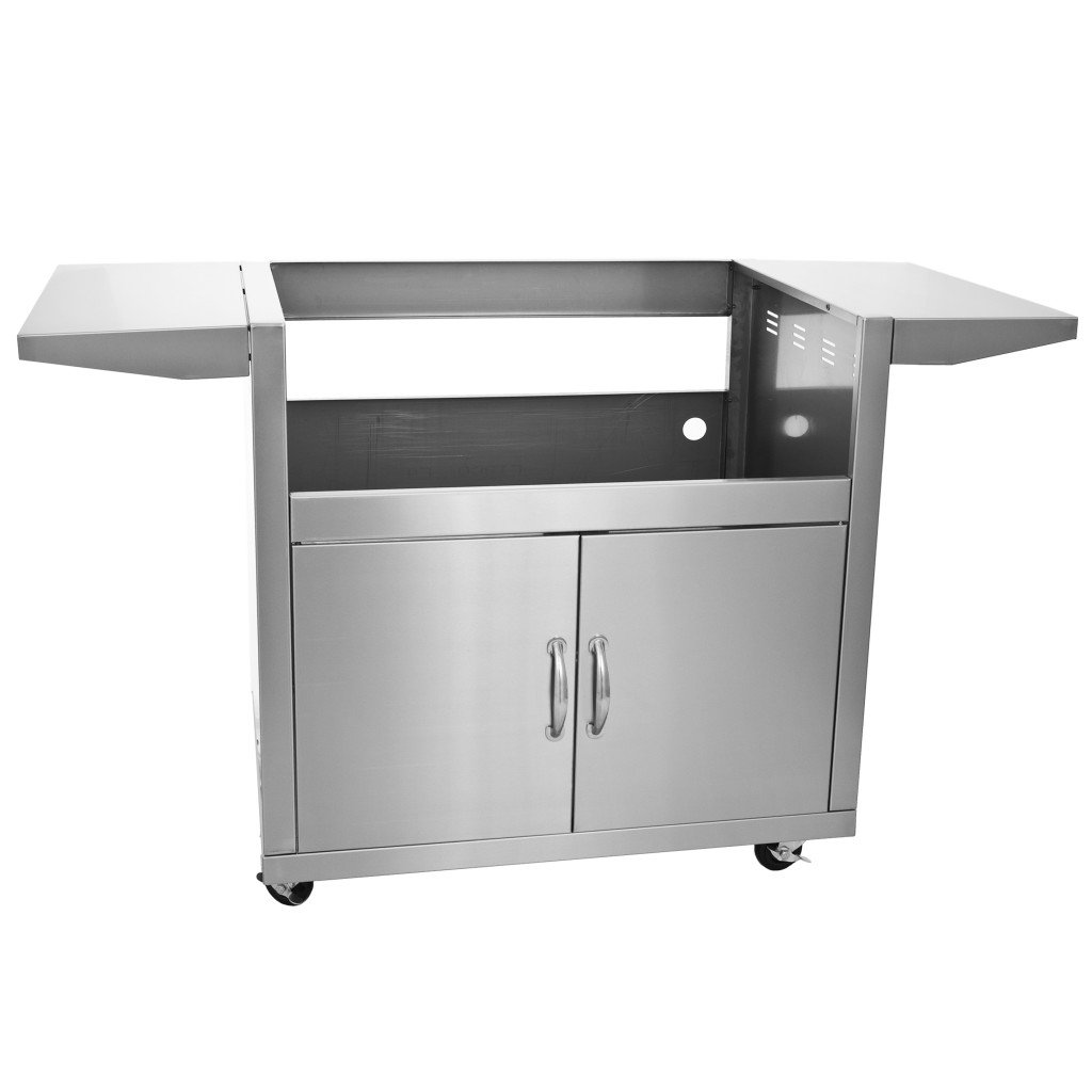 outdoor kitchen cart english country pictures blaze grill for 40 inch gas fireside