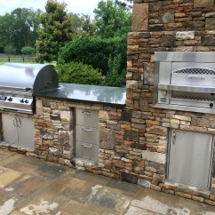 Outdoor Kitchen Pizza Oven Design Outside Grill Built In Gas Fireside