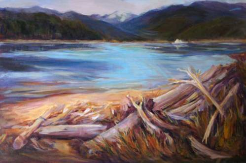 Quadra Island Driftwood
