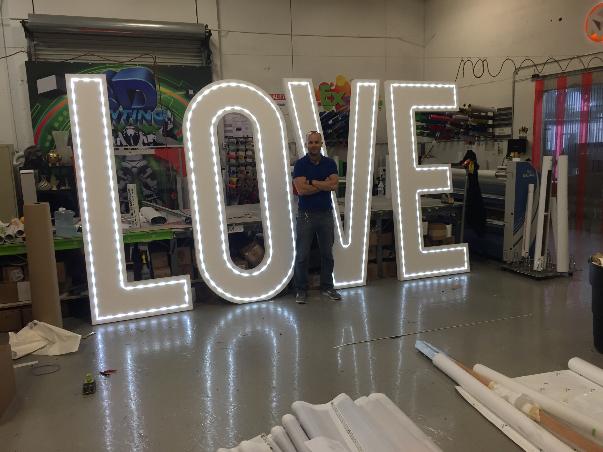 3D Foam Letters And Props Atlanta Promotional Products