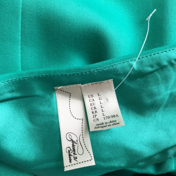 Forever 21 Exclusive green skater fit and flare dress size Large new without tags