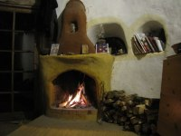 Rumford Fireplaces at the Cob Cottage Company - Firespeaking