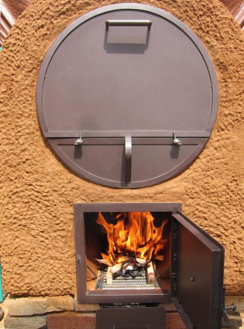 outdoor kitchen griddle hotels with kitchens in waikiki wood-fired barrel oven swannanoa, nc - firespeaking