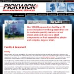 Pickwick Manufacturing a website management services client.