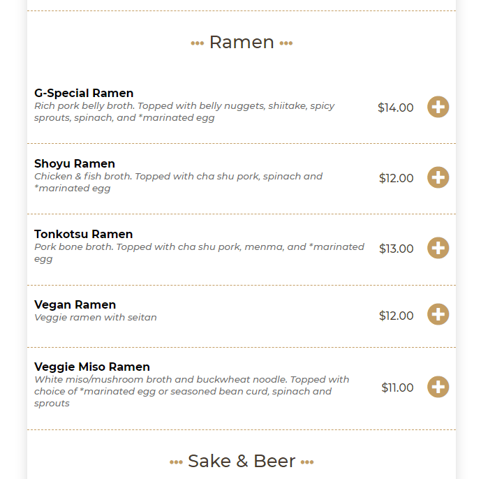 Food Online for WooCommerce, as used on HapaPDX.us