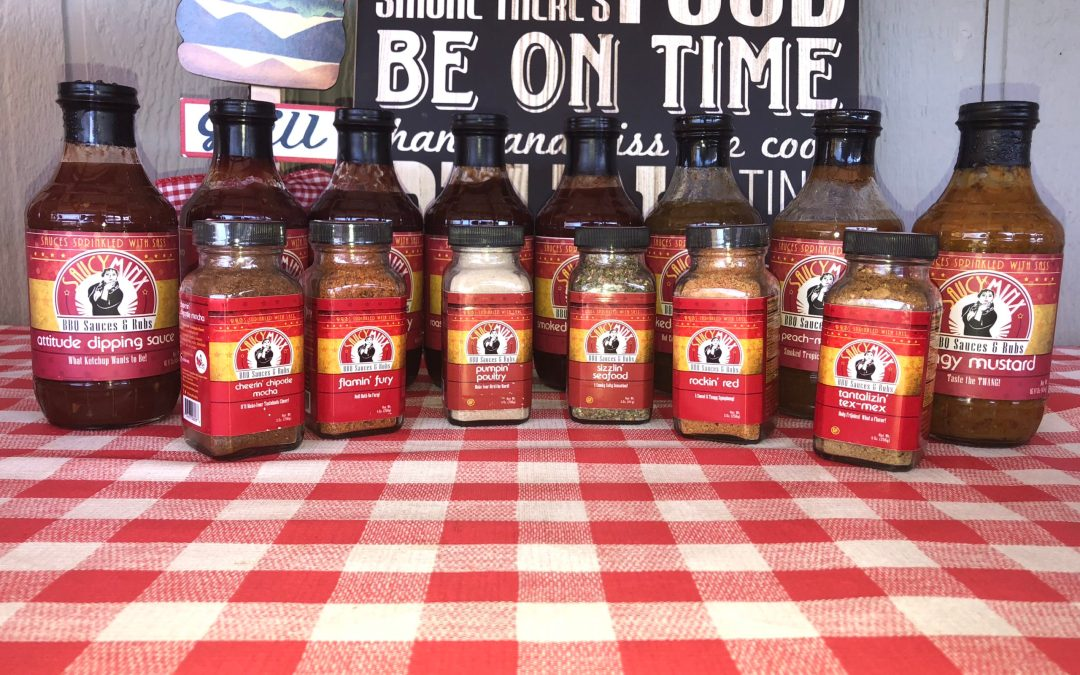 Client Spotlight: Saucy Minx BBQ Sauces & Rubs