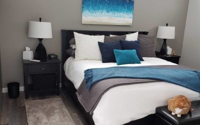 New Master Bedroom in the Floating Home