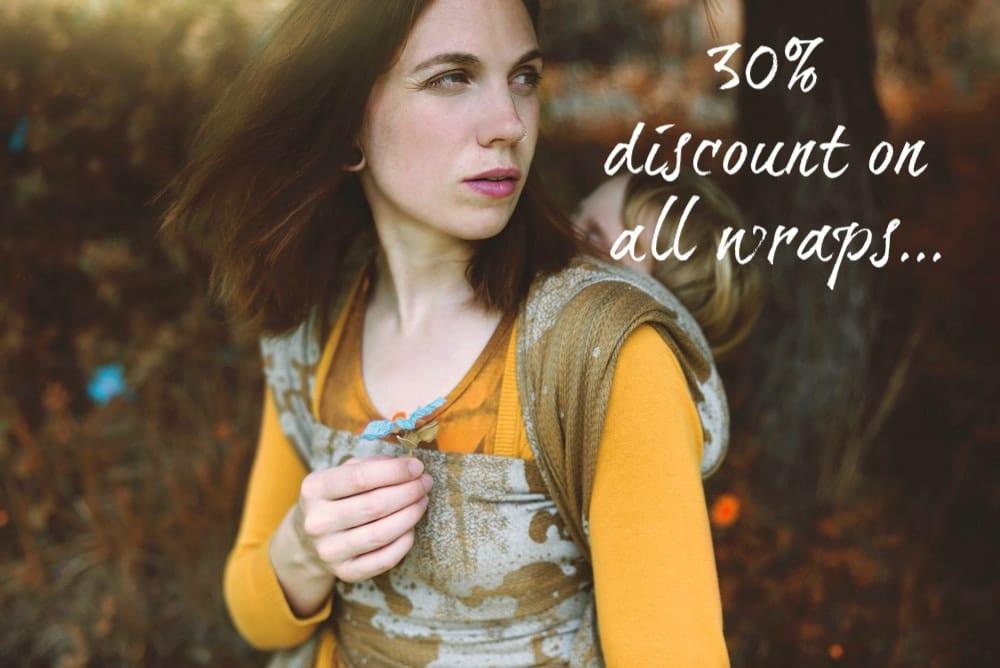 30% discount on all wraps-galena-moorland-seafoam