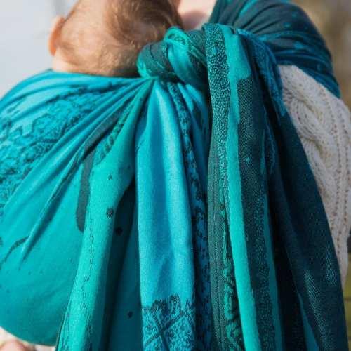 Night's Watch Cyano Charters Moss woven wrap