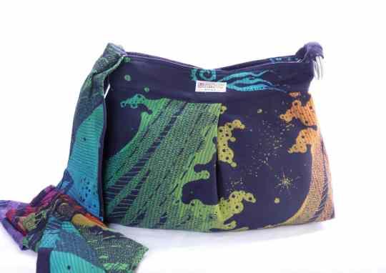 bifrost seafoam babywearing bag