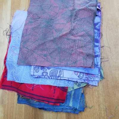 Wrap scrap squares