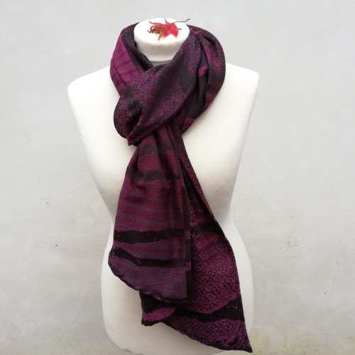 whinfell pendle birch trees scarf