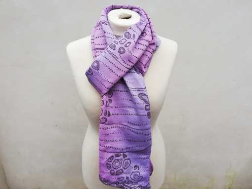 touchstone pink moon scarf
