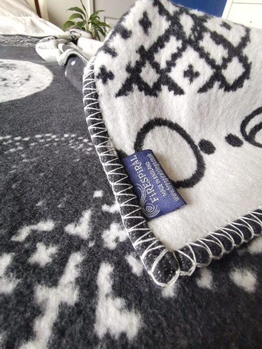 silver obsidian nocturne blanket