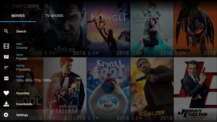 how to use popcorn time on firestick
