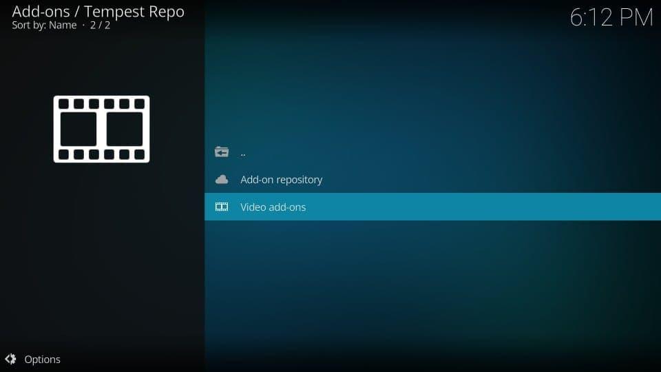 tempest repository kodi