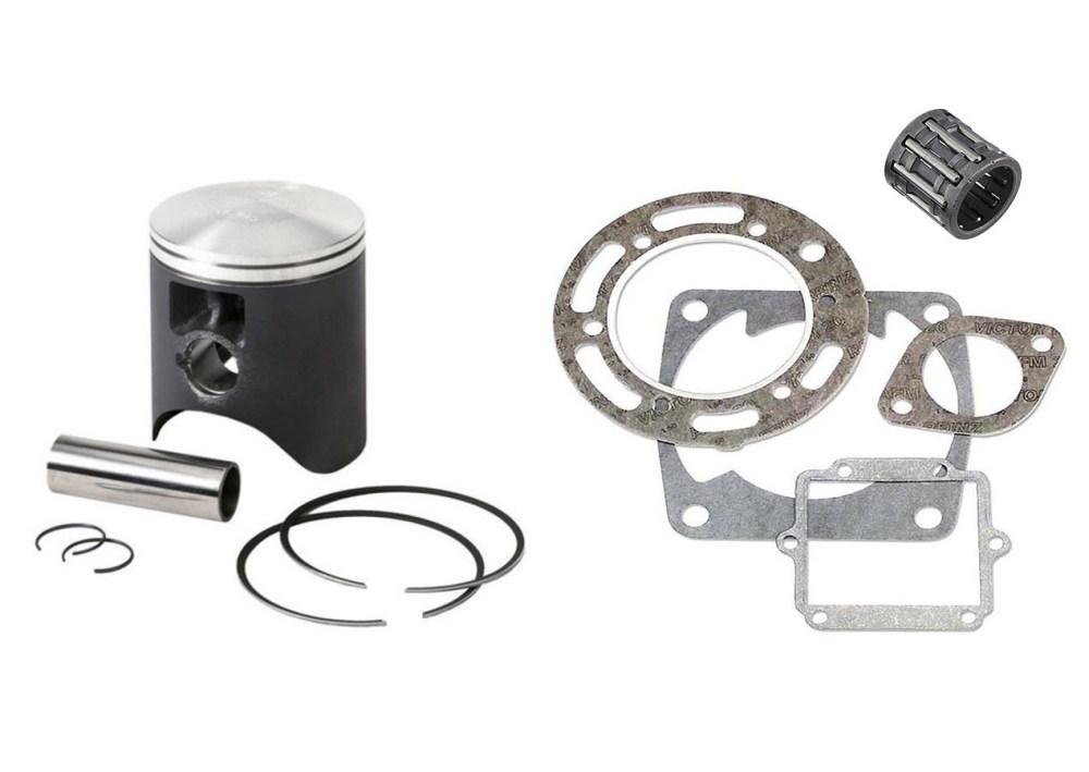 medium resolution of yamaha dt175 1977 2011 piston top end gasket rebuild kit