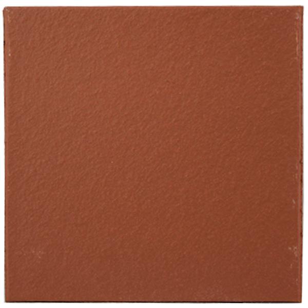 flame red 150 x 150 x 12mm 6x6 plain quarry tile