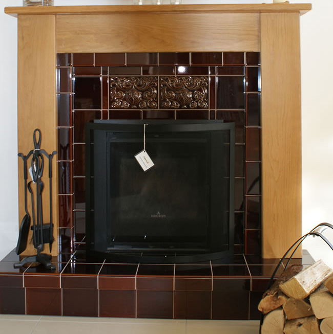 Tile Fireplace Surround Ideas
