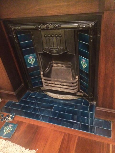 Ceramic Fireplace Tiles