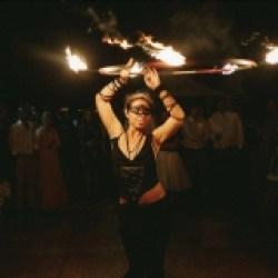 FireTribe - Jani B - Fire Hula Hooper