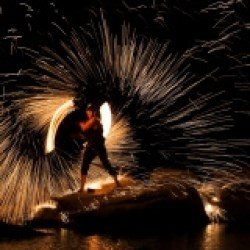 FireTribe fire performance sparks Cape Town South Africa