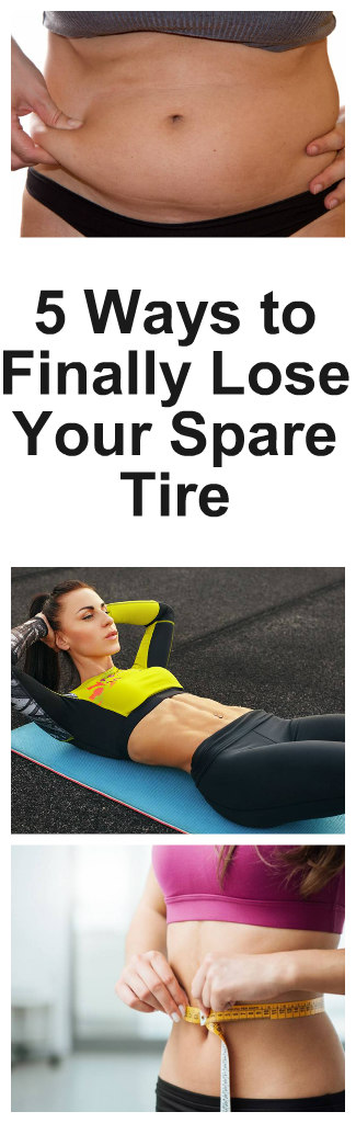 2 Ways to Finally Lose Your Spare Tire
