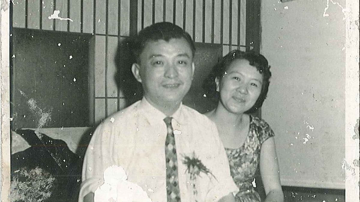 野草居食屋-1964.03.28陳玉麟教授夫婦