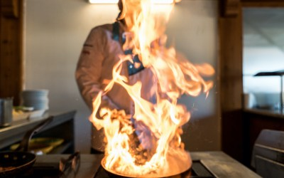 NIST Releases Research Report on Cooking Fires